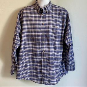 Claybrooke Blue Long Sleeve Button Down Shirt